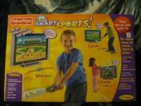 I HAVE 2 NIB FISHER PRICE SPORTS SMART. AGES 3 TO 7