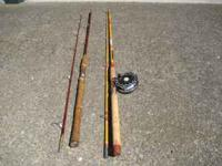 81/2 foot Olympic trolling pole with fjord reel with