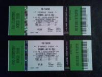 Two Foo Fighters tickets at Fenway Park for July 18,