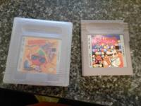Selling two gameboy games. A. KWIRK B. DR. MARIO $5.00