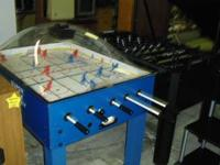 "I have 2 games left for sale...The ""Foosball"" Game, is"