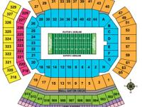 2 Gator Tickets for GS - $60.00 (Section 23). Please