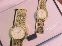 1 NEW SET OF GENEVA His and Her Watches! For Just $5.00