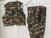 Selling two handmade GI Joe costumes, $35 apiece.