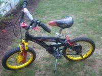 1 GIRL AND 1 BOY'S BIKE FOR SALE. THE GIRL'S BIKE IS