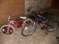 I have 2 girls bikes that have been in my cellar, we