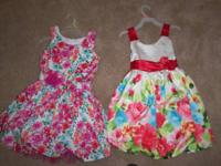 THIS IS FOR 2 GIRLS SIE 7/8 DRESSES. THESE ARE NOT