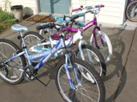 I have 2 kids bikes of different sizes all in very
