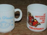 I adore granny cup $5. , if mama shares no ask