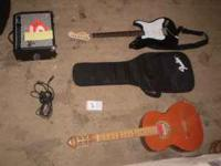 I have 2 guitars and an amp for sale. I have an Fender