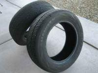 2 HANCOOK Tires P205/60R15. These tires are like new,