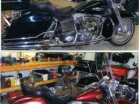 FOR SALE:. 2 HARLEY DAVIDSON MOTORCYCLES. BOTH 1200