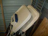 Ihave 2 high chairs for sale. both are very sturdy.