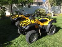 2 HONDA 2004 RANCHER TRX 400FA ATVs 4wheel