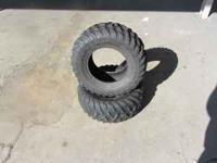 Honda 500 Rear Tires (2) Good Condition Low Price of