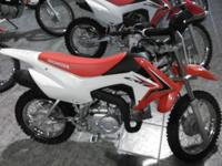 The CRF110F is an excellent off-road fun bike that your