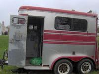 1986 Trailet with ramp and 2 full escape doors no