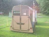 Nice two horse trailer. It has 5 new tires, all the