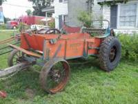 2 Horse Manure Spreader Totally restored excellent