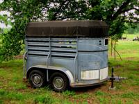 2 Horse Stock Trailer for sale. Works Great! It has