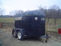 Very nice completely re modeled 2 horse trailer. The
