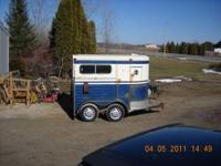 Nice older 78 trailet trailer. 7Ft.tall wide with