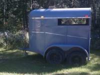 1971 2 horse trailer for sale. completely redone inside