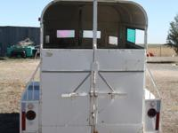 Description Nice 2 horse trailer with little to no