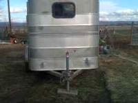1999 2 HORSE SLANT LOAD * Brakes, lights, wiring,