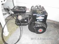 horizontal shaft 2 hp briggs and stratton gas engine.