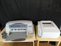 BOTH PRINTERS IN EXCELLENT WORKING CONDITION. (DeskJet