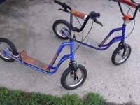 excellent conditoin bike scooters for sale i have 2 of