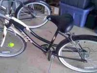 2 barely used huffy ocala beach cruisers. 120 for both,