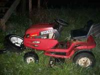 I have two huskee riding mowers, and a 44' swisher pull