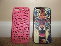 I have 2 brand new iphone 5 cases that are never used.
