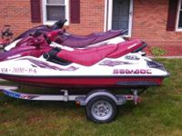 I have a 1998 Sea Doo gtx restricted edition powered by