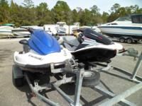 2 JET SKIS, TO BE SOLD AS PAIR OR INDIVIDUALLY, One Is