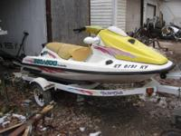 I have 2 jet skis for sale. One is a Sea Doo and the