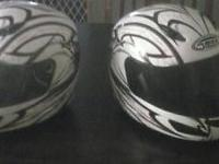 Very nice helmets only asking for 150 there a matching