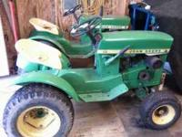 I have two 110 tractors one is a 1964 with low serial