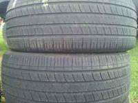 (2) Khumo Solus KH16 215/45/17 7/32nds Tread Even