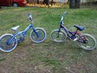 I have 2 kids bikes; Magna and Schwinn. They are great