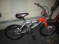 Two kids bikes for sale. One is for kids 4-6 and the