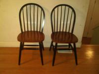 2 kitchen chairs for sale. Please call or text or email