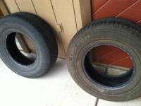 Check out two great Kumho tires, plenty of tread left!