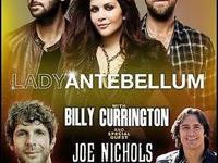 2 Hole Tickets to Woman Antebellum. w / Billy