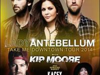 2 Tickets to Lady Antebellum w/ Kasey Musgraves & Kip