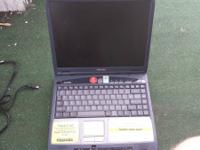 2002 Toshiba Satellite laptop the excellent has bag