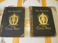 I have 2 very large Civil War books from the 1880's. I