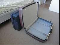 Samsonite and Delsey Brand. Clean and good condition.